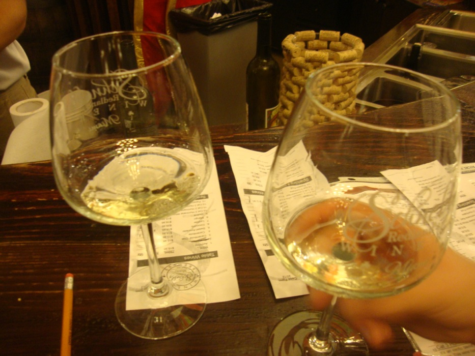 Schnebly's wine testing