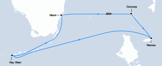 miami-croisière