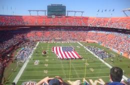 Aller à un match de football américain à Miami : Go Dolphins !
