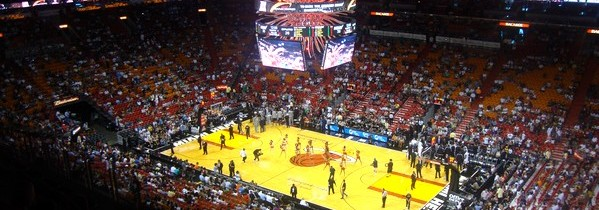 Aller à un match de Basketball à Miami : Let's go Heat !